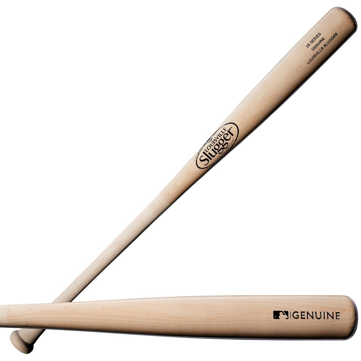 Series 3 Genuine Ash Natural Baseball Bat 1