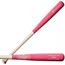 Genuine Maple M110 Natural/Pink Baseball Bat