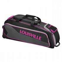 Prime Rig Wheeled Bag - Black / Pink