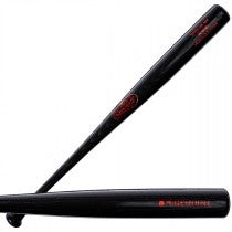 Youth Genuine Ash 125 Black Baseball Bat