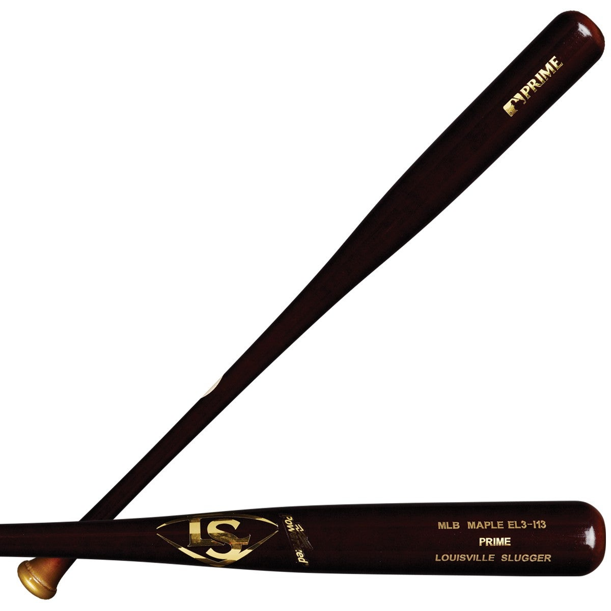 MLB Prime Maple EL3-I13 Hickory Baseball Bat